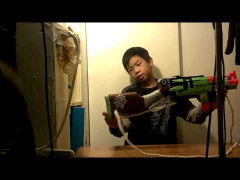 How to make a sling for your nerf gun