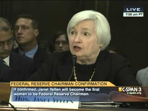 Senator Vitter (R-LA) asks Janet Yellen about Audit the Fed (S.209)