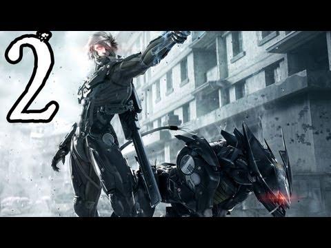 Metal Gear Rising DLC  Blade Wolf Walkthrough - Part 2 [XBOX 360/PS3/GAMEPLAY]
