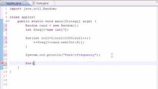 Java Programming Tutorial - 30 - Array Elements as Counters