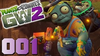 Plants vs Zombies Garden Warfare 2 [001] Hinterhofkampfplatz - Let´s Play PvZGW2