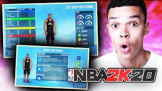 NBA 2K20 Community Day - Création du MyPLAYER, retour de l'université/draft NBA, gameplay & more !
