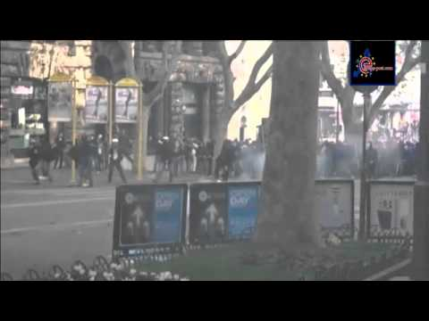 Italy anti austerity protest ends in violent clashes   euronews, world news