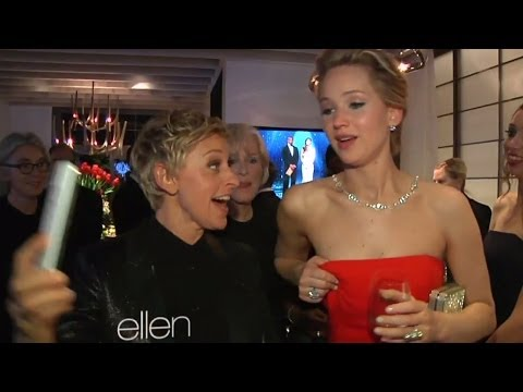 Jennifer Lawrence: I Should Have Flashed a Boob During Oscars Selfie!