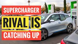 Tesla Superchargers Alternative Is Growing Surprisingly Fast