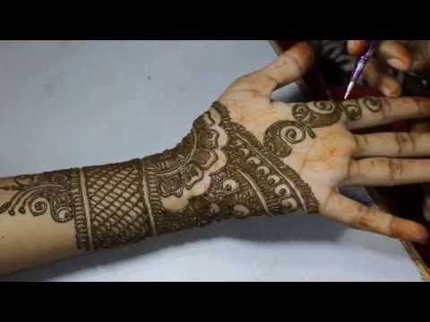 Arabic Mehandi Design Front Hand Video 16 - Ilovemehandi.tv video