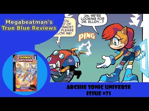 Let's Review Sonic Universe #71!