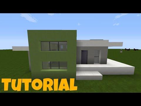 Wie Baut Man Ein Kleines Modernes Haus In Minecraft Minecraft - Minecraft haus bauen german