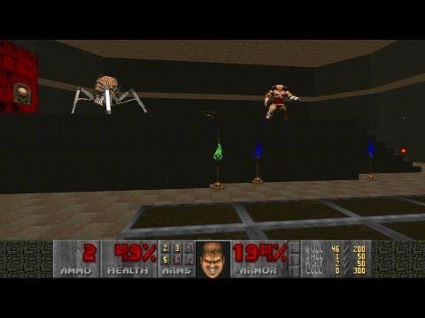 Doom Doom 2 MAP 20 Gotcha! UV-Max in 2:42