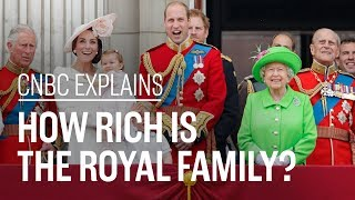 How rich is the royal family? | CNBC Explains