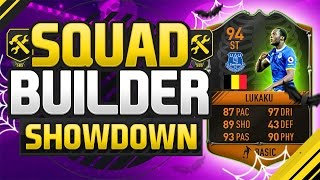 FIFA 17 SQUAD BUILDER SHOWDOWN!!! 94 RATED LUKAKU!!! Upgraded Scream Lukaku Squad Duel