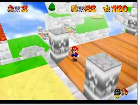 SM64 Star Road - Sky Land Resort (Major Hack P4)