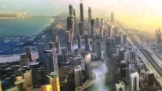 Dubai Construction Timelapse 1990-2014