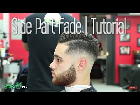 Sergio Ramos Hair   How to do Side Part Fade Haircut with Razor Beard!