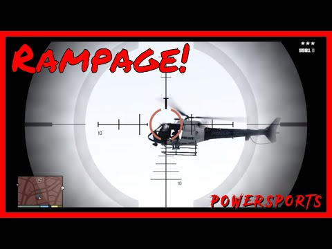 Lets Play GTA V - Episode 045 - Create Your Own Rampage - Destroy Ten Helicopters