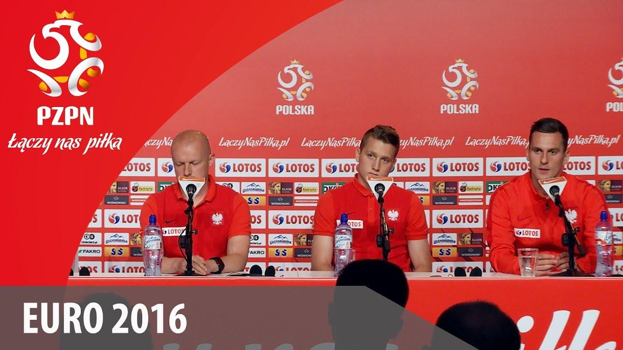 Konferencja reprezentacji Polski (La Baule, 10.06.2016)