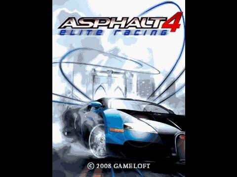 Asphalt 4 Elite Racing GSM Java Mobile Phone Game