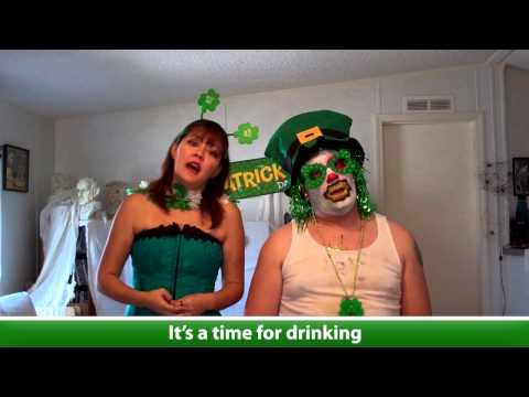 Sing-a-long Disney-like St. Paddy's Day Drinking Songs
