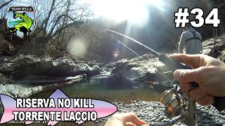 Pesca Trote a Spinning in Torrente - Riserva No Kill Torrente Laccio (2015)