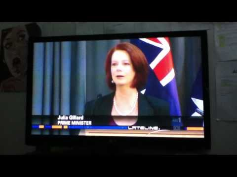 Prime Minister Julia Gillard, Federal Attorney-General Robert McClelland and Australian Security Intelligence Organisation (ASIO) Director-General David Irvi...