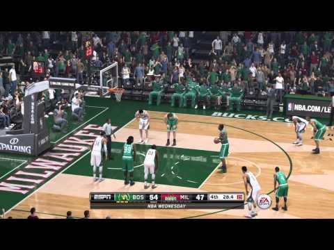 NBA 2015 - Boston Celtics vs Milwaukee Bucks - Post HIghlights - NBA LIVE 15 PS4 - HD