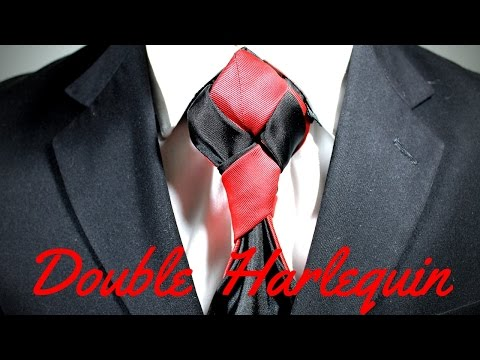 How To Tie a Tie - Double Harlequin Knot