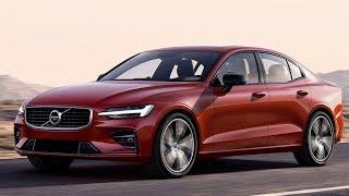 2019 New Volvo S60 mid-size Premium Sports Sedan Design Features Review