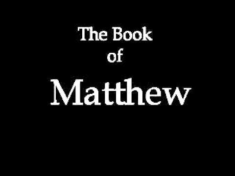 The Book Of Matthew (kjv) video
