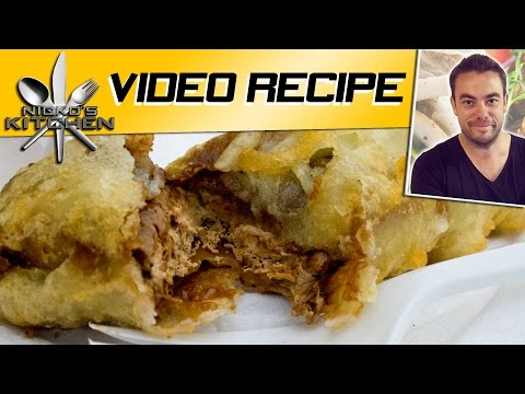 MAKING DEEP FRIED SNICKERS BAR