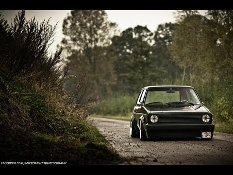 mikecrawatphotography 1983 vw golf mk1 air ride youtube. Black Bedroom Furniture Sets. Home Design Ideas