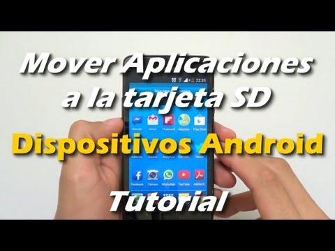 [Tutorial] Mover aplicaciones a la tarjeta SD   Solución Memoria casi llena Android
