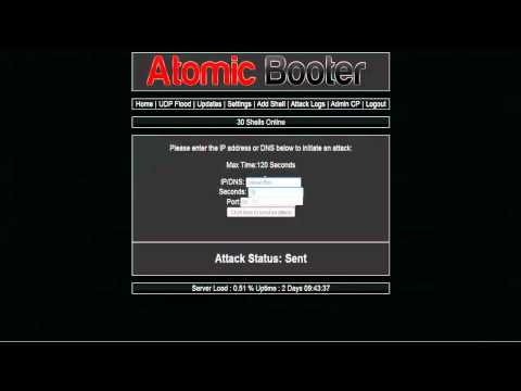 Atomic Booter [Best Host Booter Ever Made]