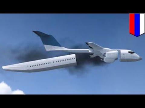 Surviving a plane crash: Detachable cabins could parachute passengers to safety - TomoNews