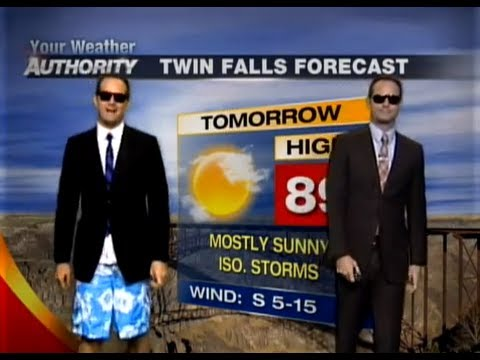 The Rapping Weatherman's Seventh Live Weather Rap