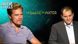 The Shape of Water (2017) Michael Shannon And Michael Stuhlbarg talk about the movie