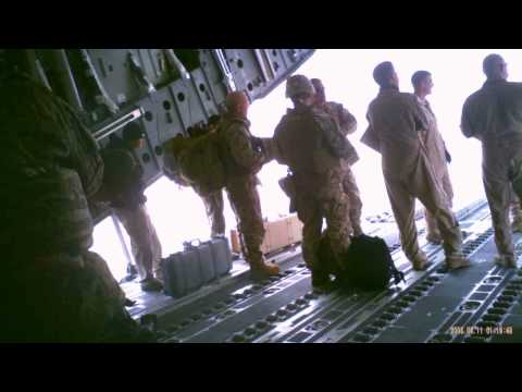 Arriving at Bagram Air Base, Parwan Afghanistn 2013
