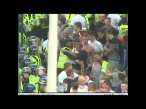 EDL Birmingham - footage posted on YouTube