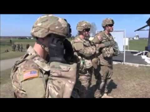 US Instructors Train Ukraine Army: Russia keeps thousands of soldiers in east Ukraine
