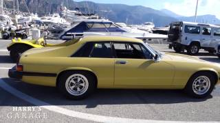 Jaguar XJS V12 drive to Monaco review