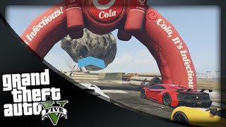 GTA 5 Funny Moments - 'MODDED DRAG RACE!' (GTA 5 Online Funny Moments)