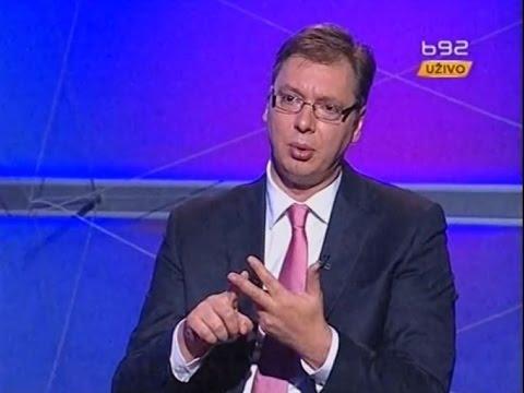 Aleksandar Vučić - Intervju za TV B92
