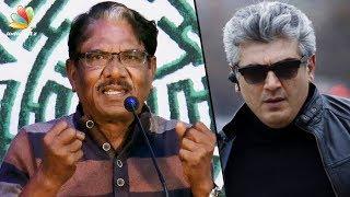 He commands respect even WITHOUT coming onstage : Bharathiraja Speech | Kurangu Bommai Movie