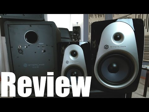 Review: Sterling Audio MX Series Monitors