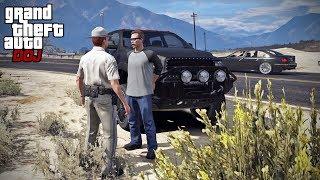 GTA 5 Roleplay - DOJ 236 - Distracted Driver (Criminal)