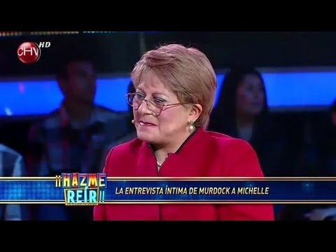 El Late de Murdock, invitada Michelle Bachelet - Hazme Reir (01/04/2013)