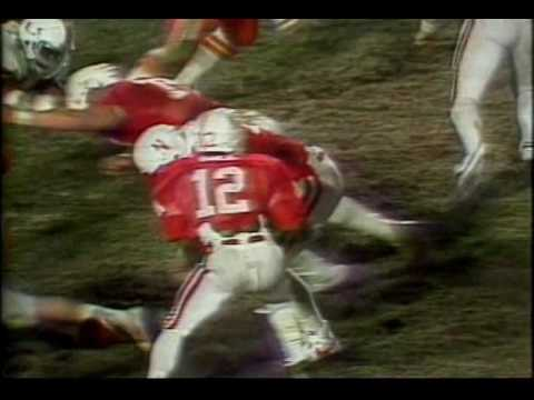 Golden Game for Hurricanes Miami, Fla. 31 Nebraska 30 January 2, 1984 Orange Bowl Stadium In arguably the greatest college football bowl game ever played, Mi...