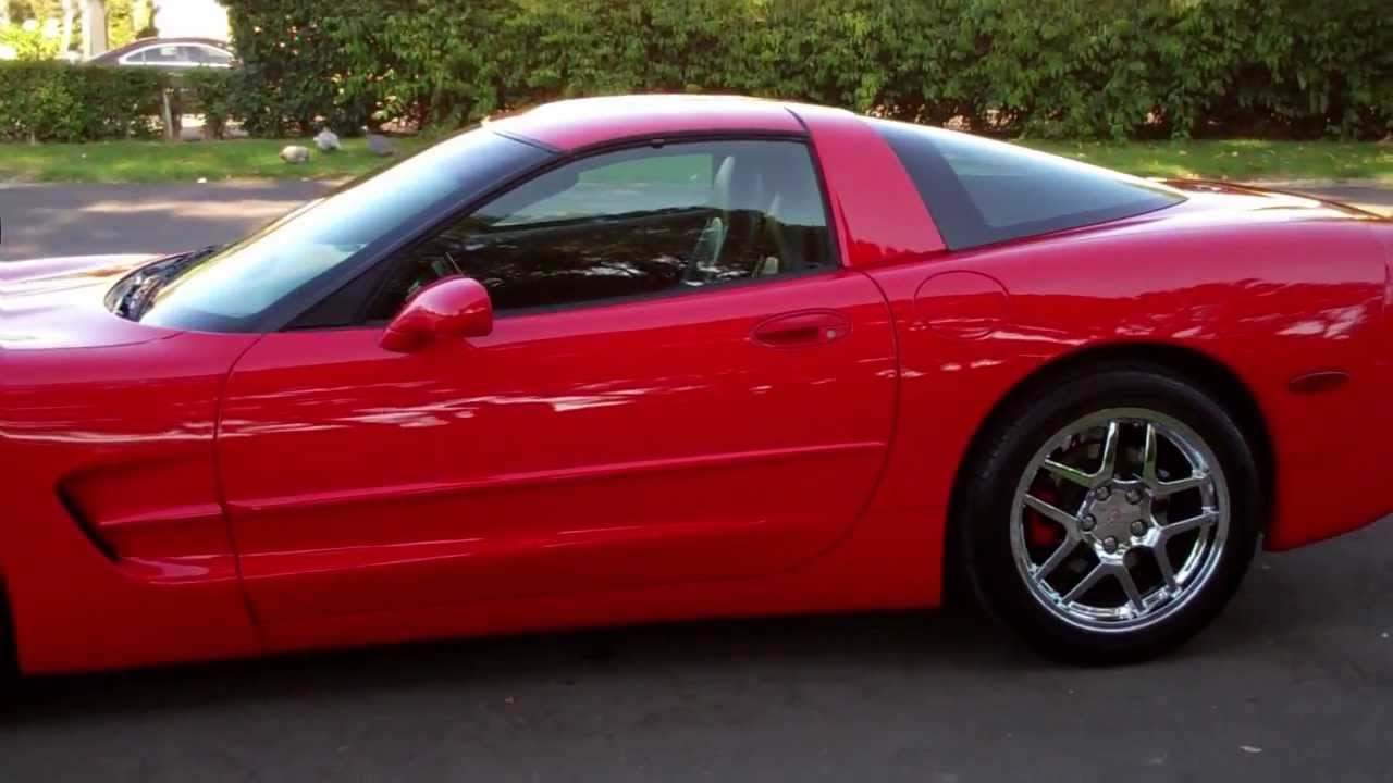 SOLD C5 1998 Red Corvette Coupe For 4 Sale By Corvette