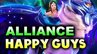 ALLIANCE vs HAPPY GUYS - World Showdown of Esports DOTA 2