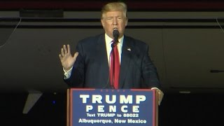 Full Video: Trump makes surprise campaign stop in Albuquerque