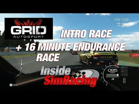 GRID Autosport - Intro Race + 16 Minute Endurance Race